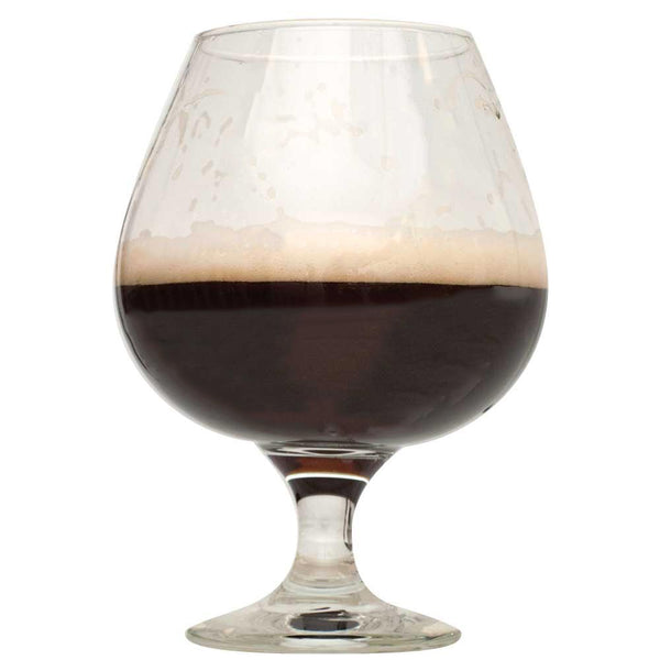 Bourbon Barrel Porter in a drinking glass