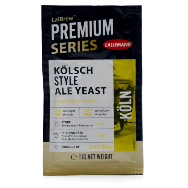 LalBrew® Köln Kolsch Style Dry Yeast front of package