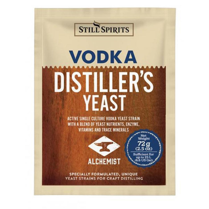 Still Spirits Distiller's Yeast Vodka - 72g
