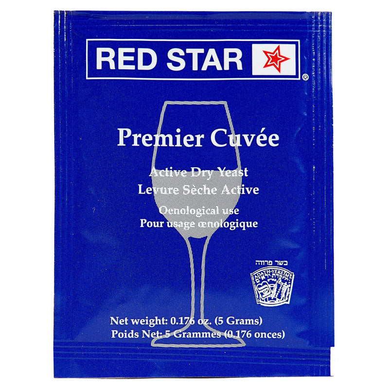 red star premier cuvee yeast sachet
