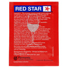 red star premier rouge yeast sachet's back