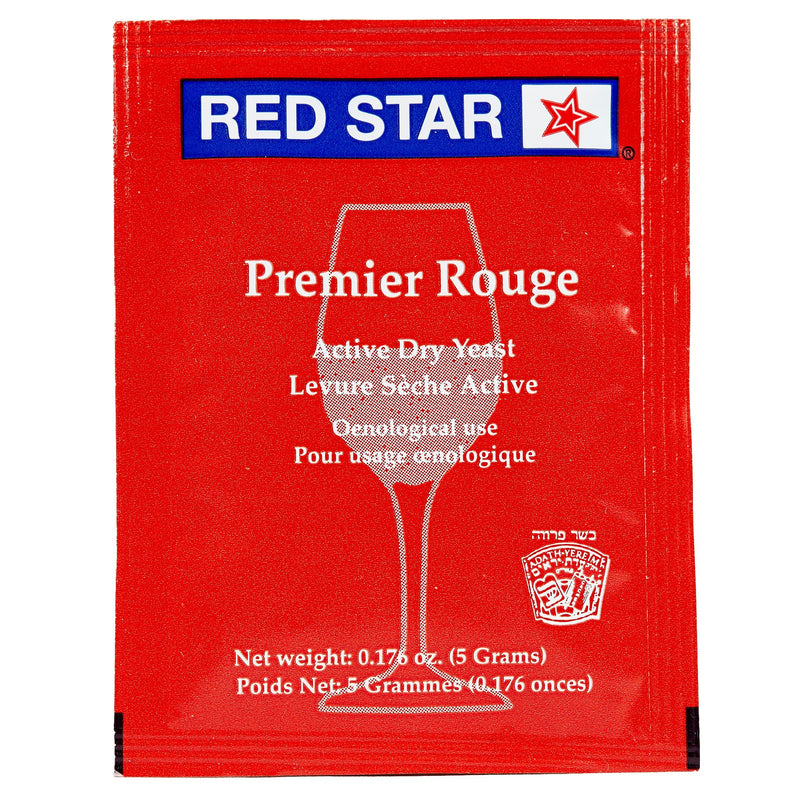 red star premier rouge yeast front