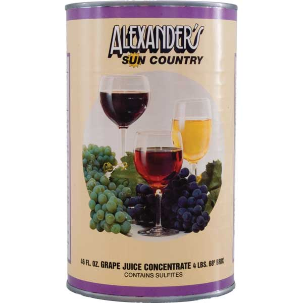 Muscat (Alexander's Sun Country Concentrates)
