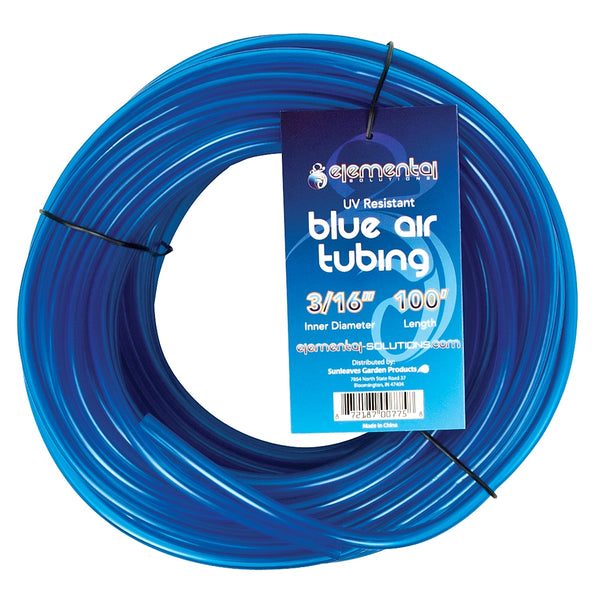 100-feet of Blue O2 Air Tubing coiled