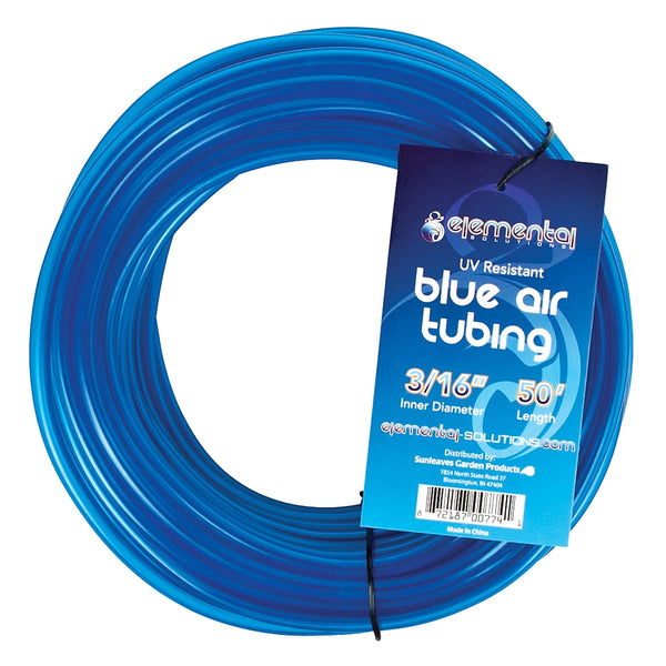 "Blue O2 Air Tubing 3/16"", 50 Feet"