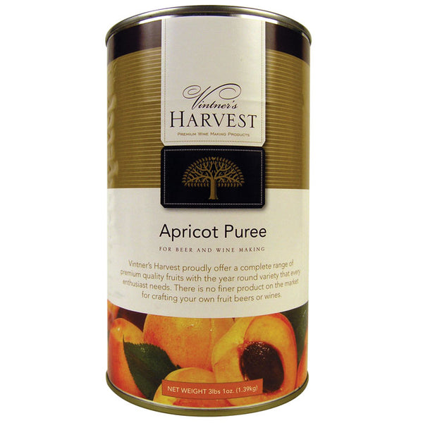 3-pound 1-ounce can of Vintner's Harvest Apricot Puree