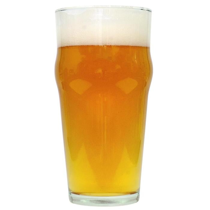 Azacca Single-Hop Pale Ale homebrew in a glass