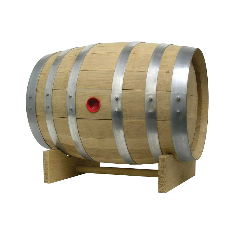 Barrel Cradle for 5 Gallon Barrel Mill Barrel with Barrel Displayed