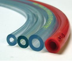Four differently-colored tubing