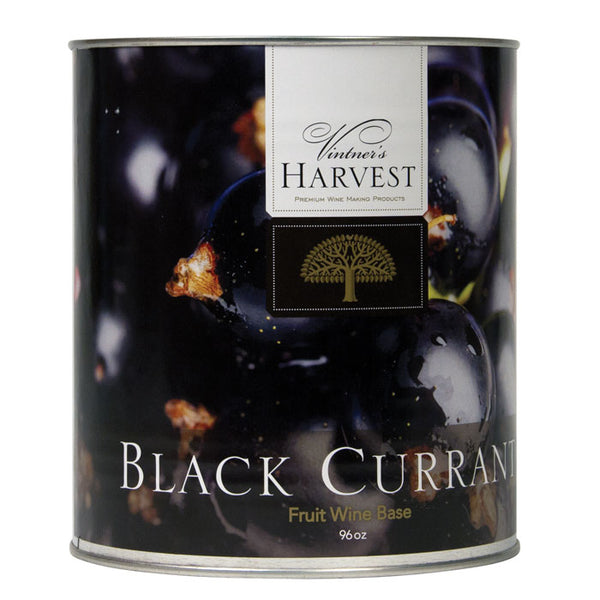 96-ounce can of Black Currant by Vintner's Harvest Fruit Bases
