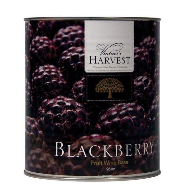 96-ounce can of Blackberry by Vintner's Harvest Fruit Bases