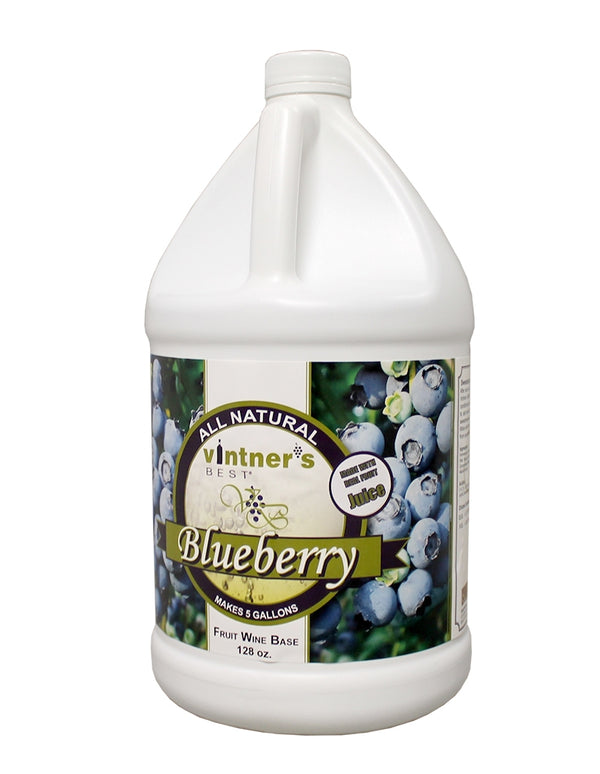 Vintner's Best® Blueberry Fruit Wine Base 128 oz.