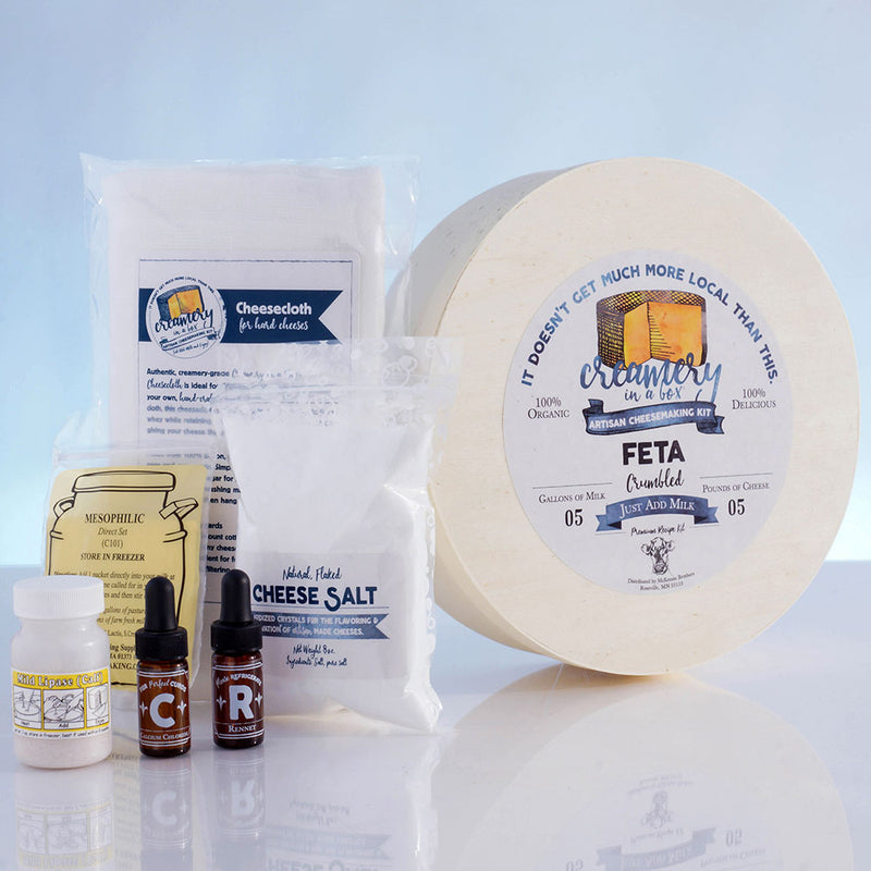 Creamery in a Box® Feta Cheese Recipe Kit