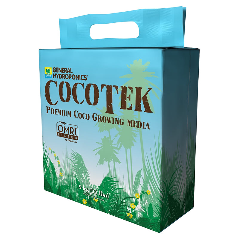CocoTek's 5KG Bale Organic Growing Medium container