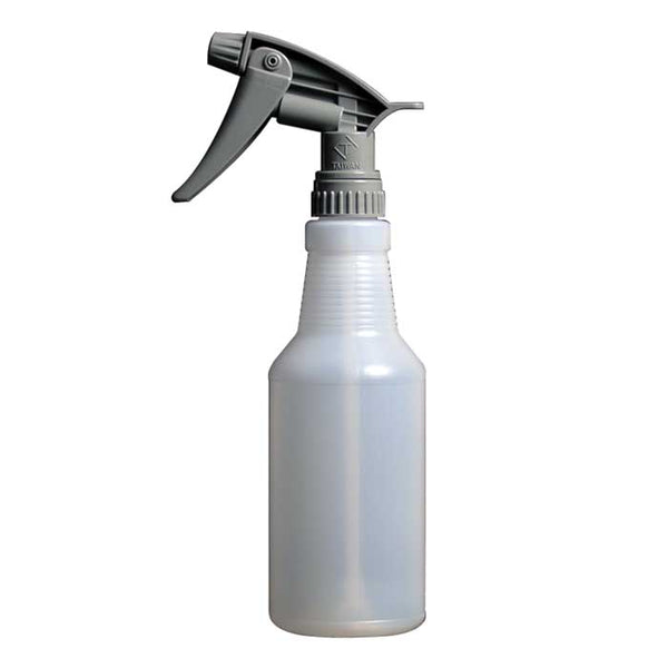 16-ounce chemical resistant spray sanitizer bottle