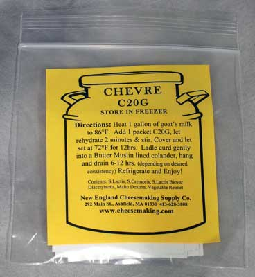 Chèvre C20G - 5 Packets