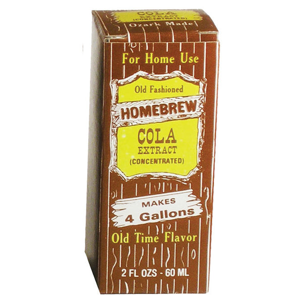 Cola Soda extract in its packaging
