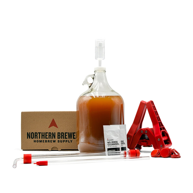 Craft Beer Making Kit - 1 Gallon Fermenter