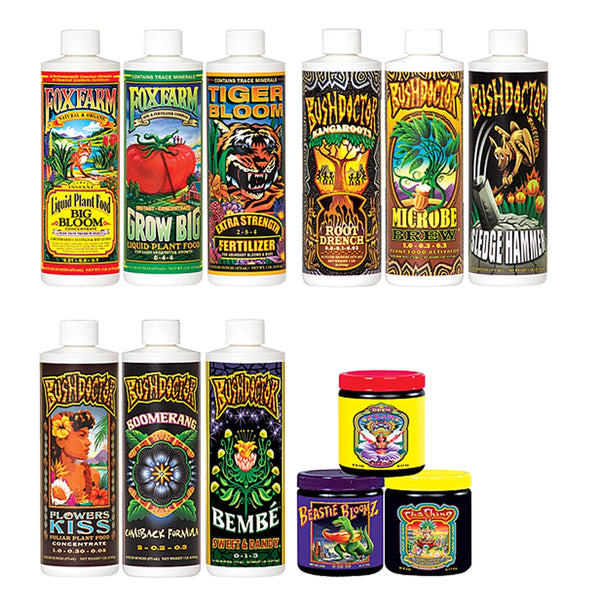 FoxFarm Dirty Dozen Nutrient Starter Kit