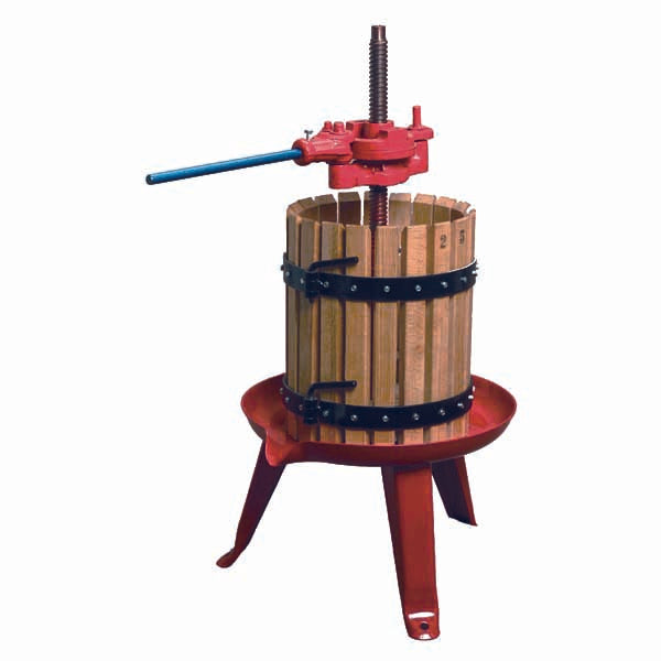 The Italian-Made Ratchet Wine Press