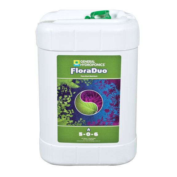 6-gallon container of Flora Duo A
