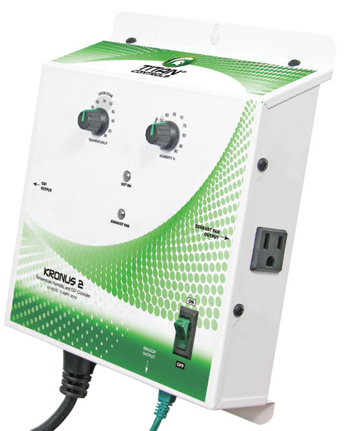 The Titan Kronus 2 Temp/Humidity/CO2 Controller