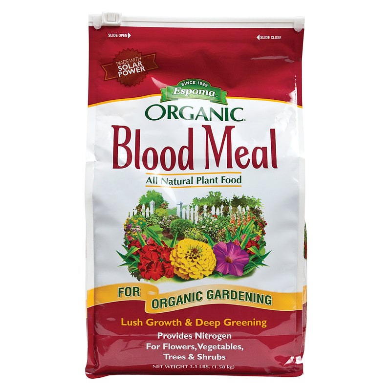 3-pound grow more blood meal in its bag
