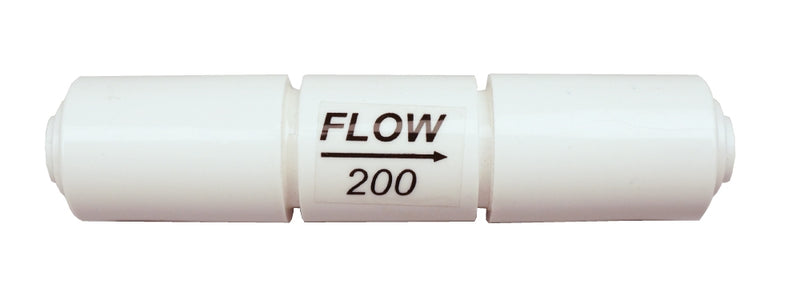1:1 ratio flow restrictor for Stealth-RO100