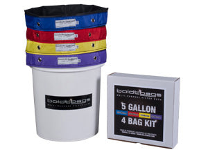 Boldtbags 5 gallon 4 bag kit