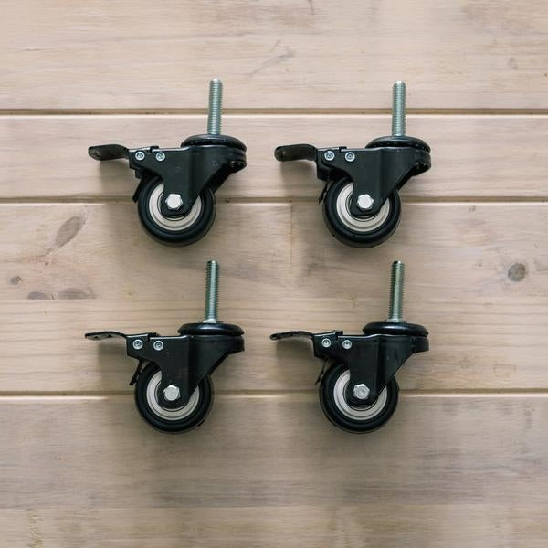 Ss Brewtech Caster Wheels for Chronical 14, Half Barrel and Brite Tanks SET OF 4