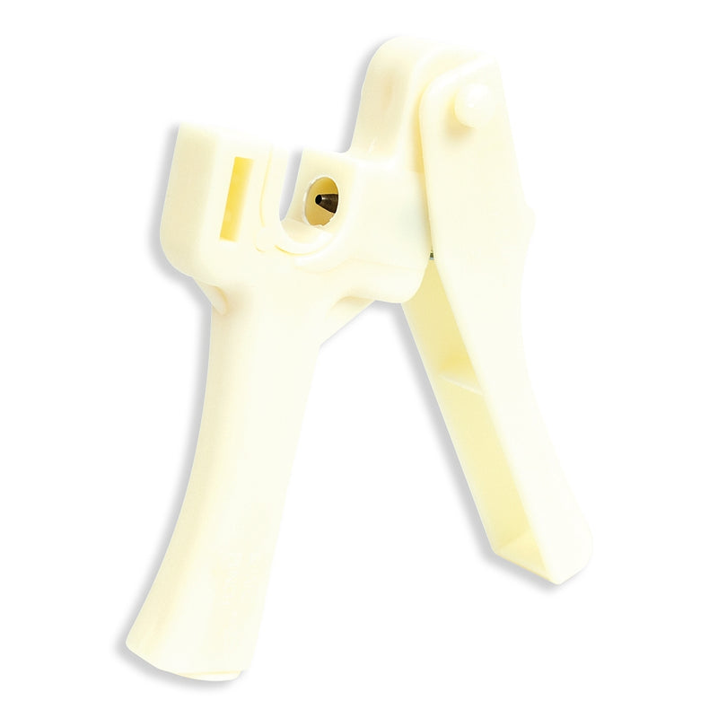 Cream-colored 1/4 inch hole heavy duty hole puncher