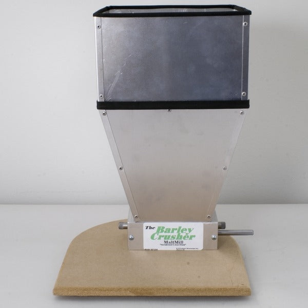 Barley Crusher Malt Mill with a 15-pound hopper