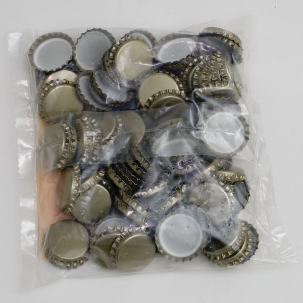 29mm European Bottle Caps - 100 Count