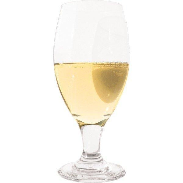 Sweet mead in a drinking glass
