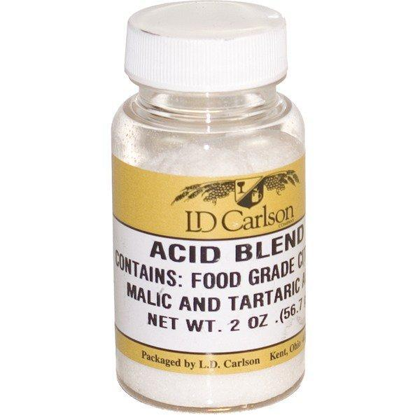 Acid Blend container