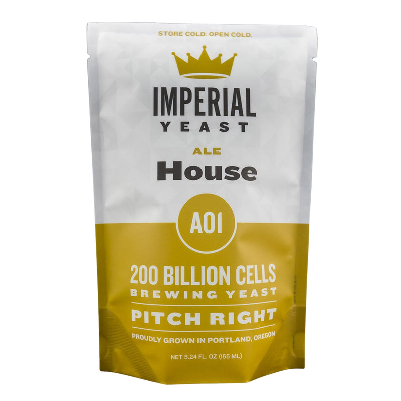 Imperial Yeast A01 House in a pouch