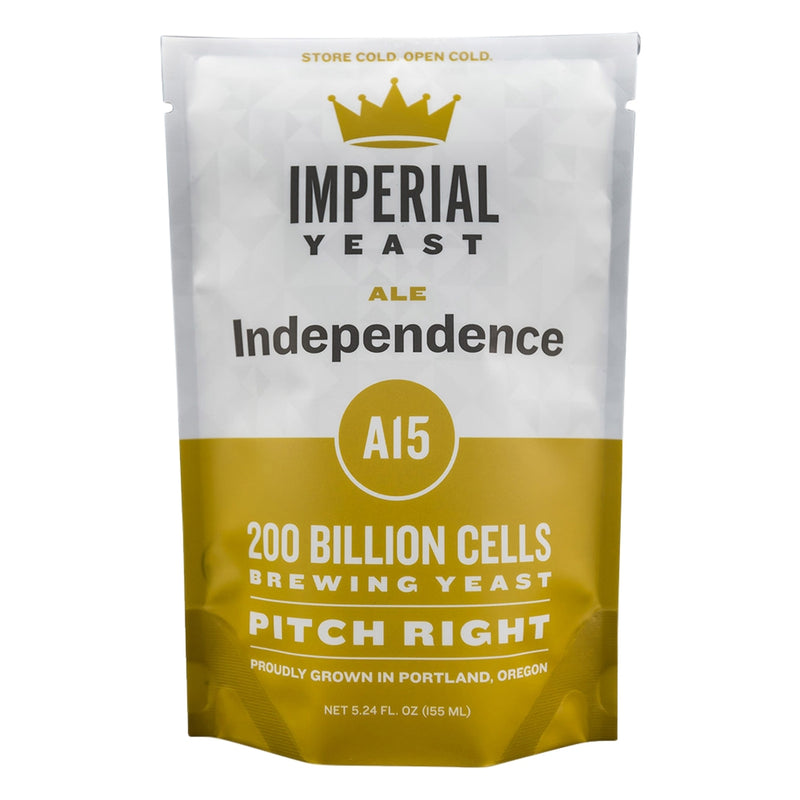 Imperial Yeast A15 Independence in its pouch