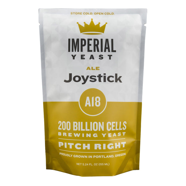 Imperial Yeast A18 Joystick in its pouch