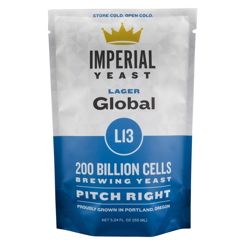 Imperial Yeast L13 Global's pouch