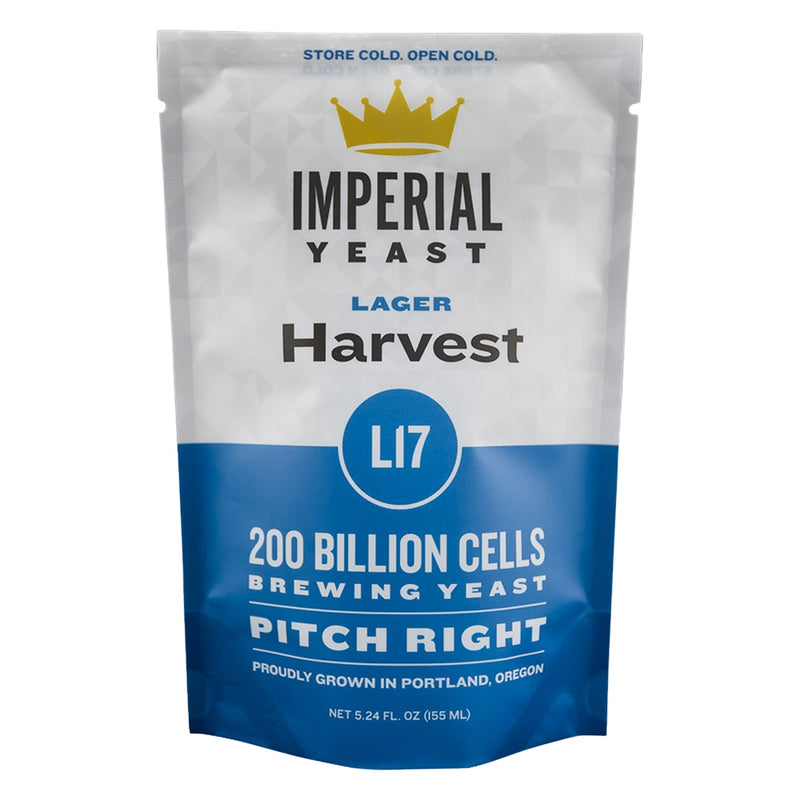 Imperial Yeast L17 Harvest's pouch