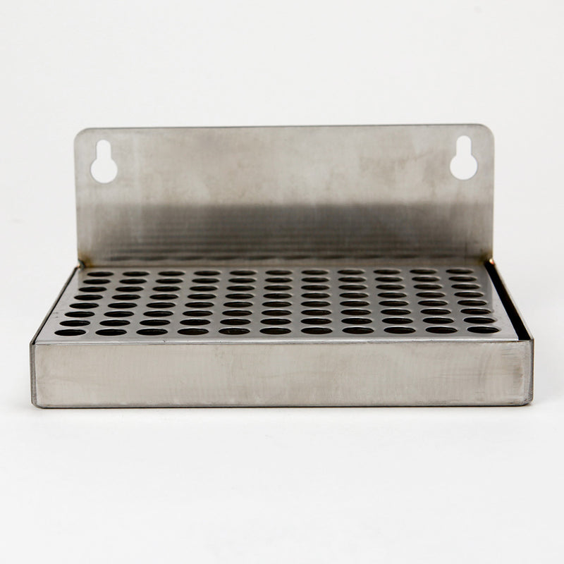 "Mountable Drip Tray, no drain (6""L x 4""W- 2"")"