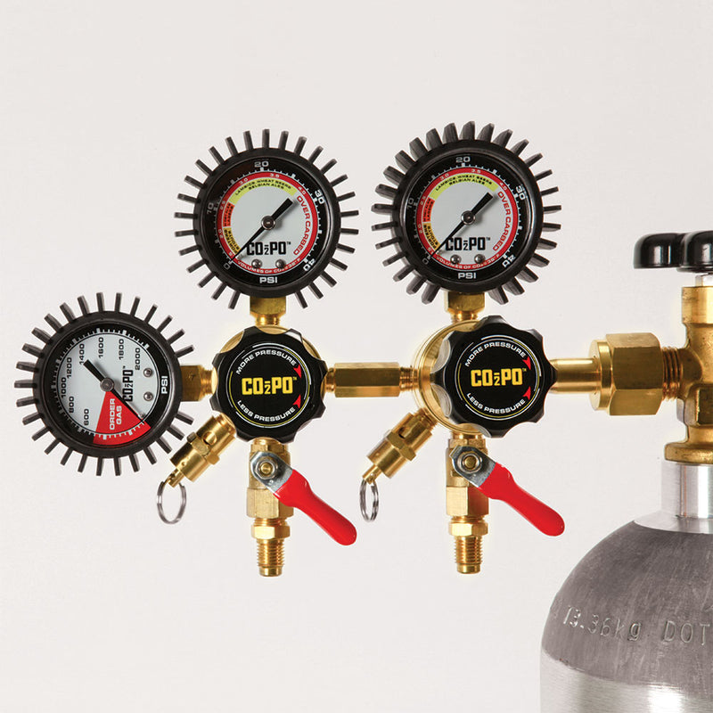 CO2PO Double Body CO2 Regulator
