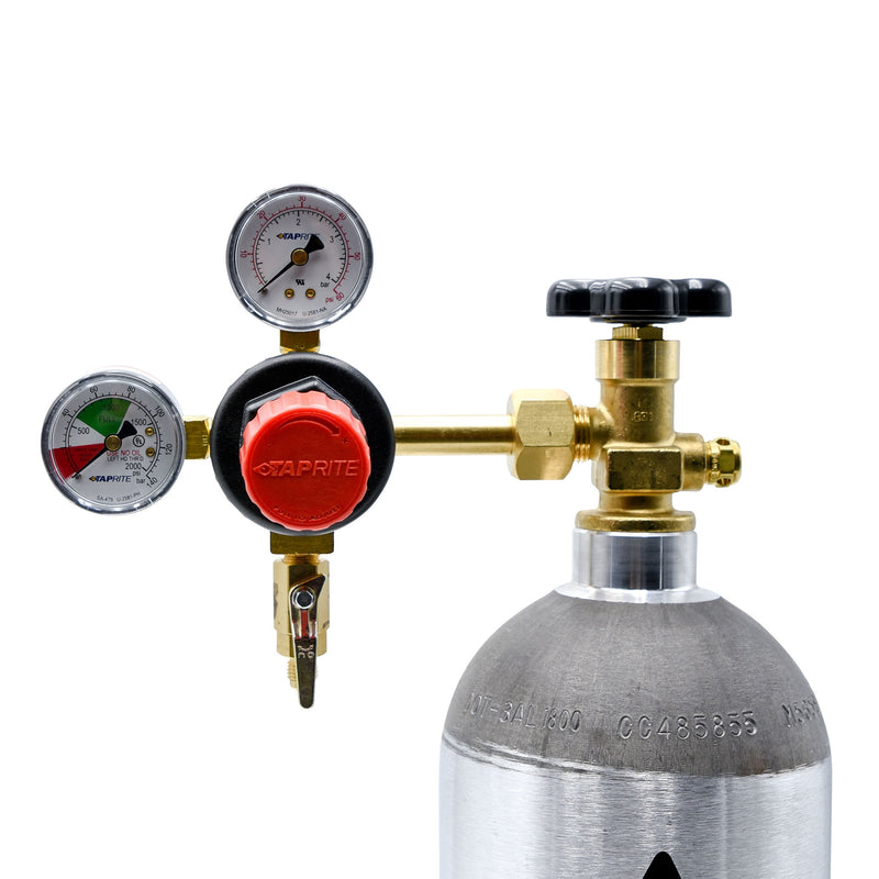 Taprite CO2 Regulator with MFL Outlet