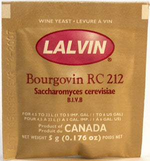 Lalvin RC-212 Bourgovin - Midwest supplies