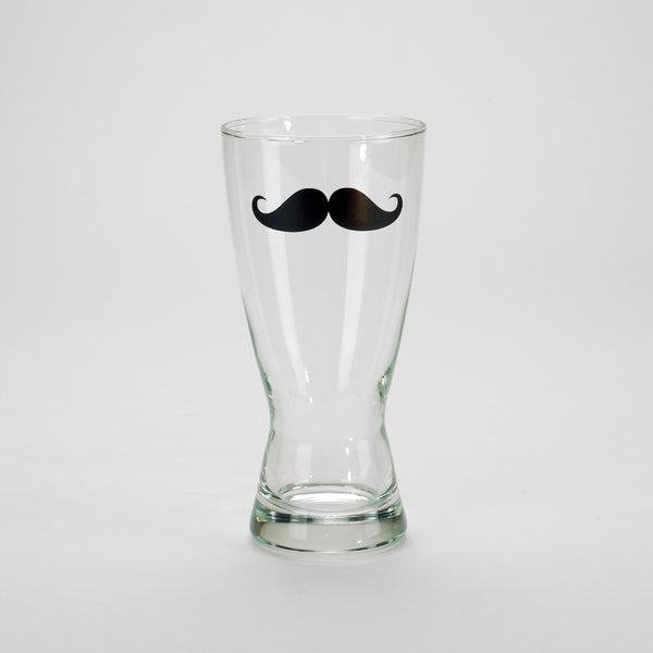 Hopstache 15 oz. Glass for Movember Beer Kit
