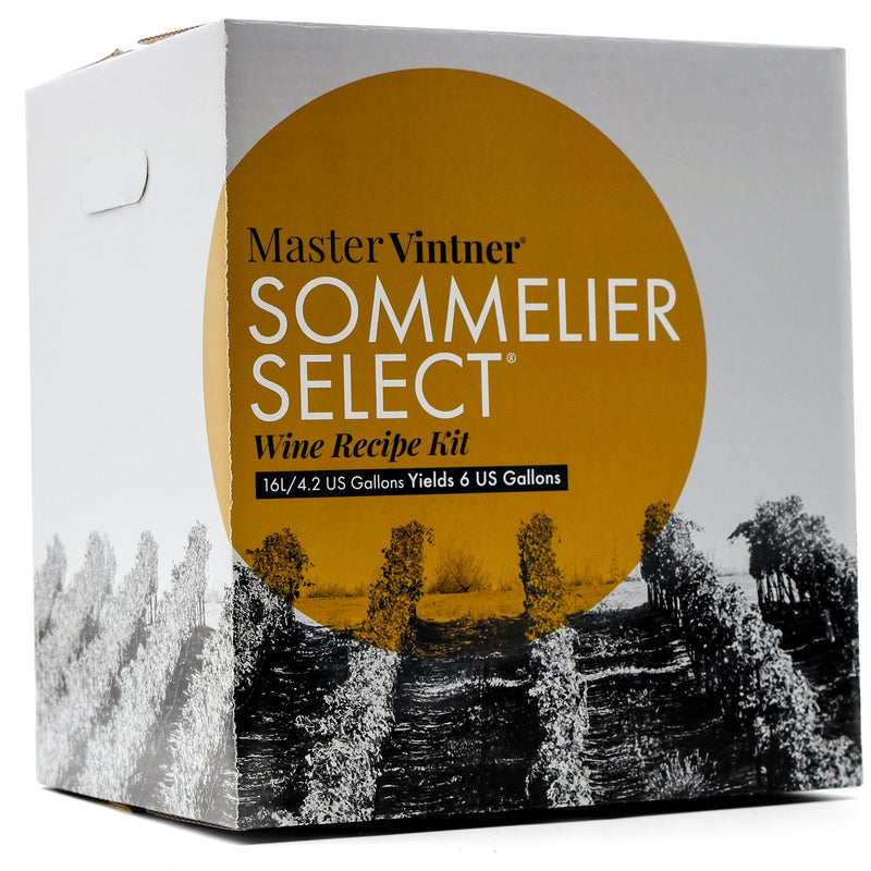 Chardonnay Wine Kit box by Master Vintner Sommelier Select