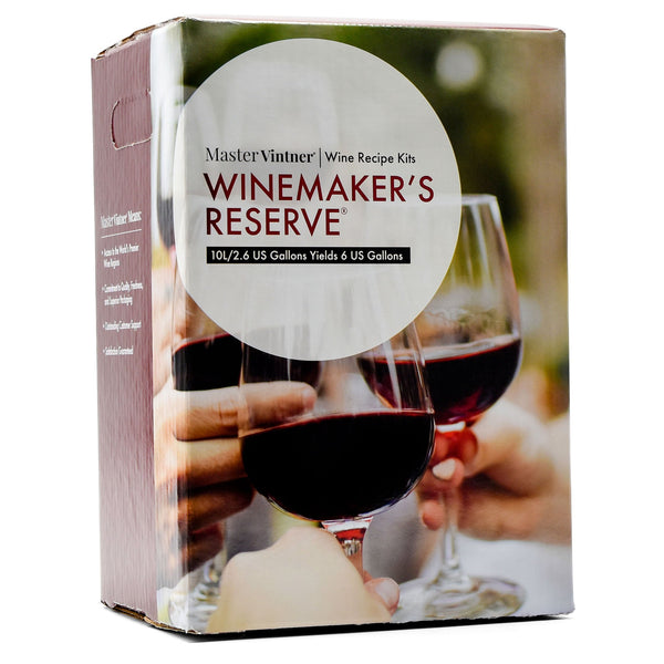 Cab Merlot Wine Kit box by Master Vintner Winemakers Reserve
