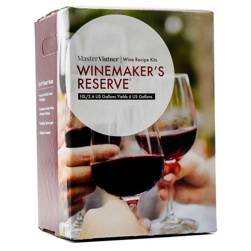 Rossa Ardente Wine Kit box by Master Vintner Winemaker's Reserve