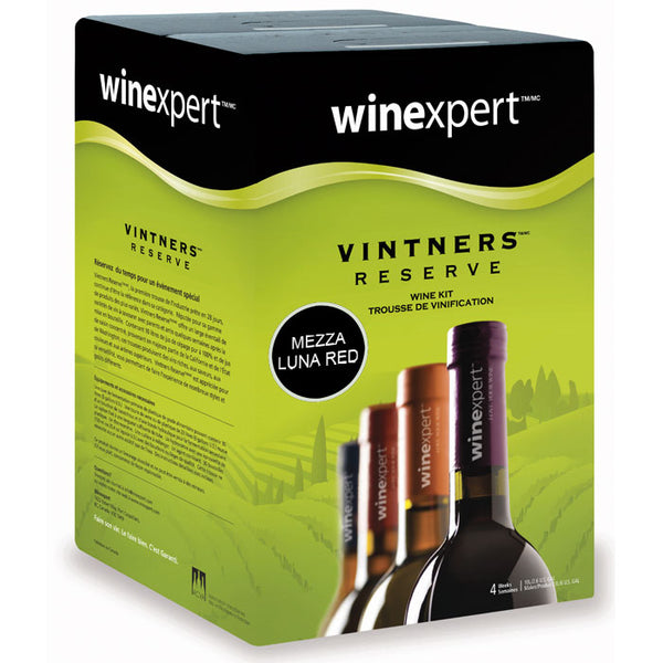 Mezza Luna Red Wine Kit - Winexpert Vintner's Reserve