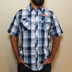 Midwest Supplies Logo Plaid Work Shirt